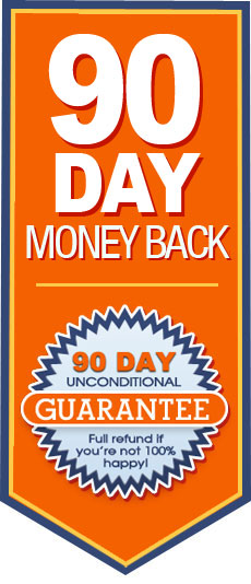 Free 30 day trail and 90 day money back Guarantee